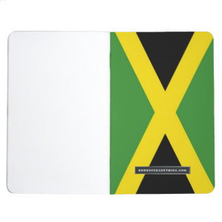 Patriotic journal with Flag of Jamaica