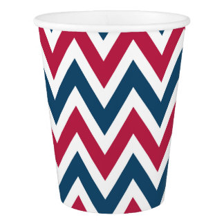 Patriotic July 4th Part Picnic BBQ Paper Cups