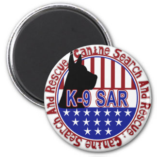 PATRIOTIC K-9 SAR -CANINE SEARCH & RESCUE MAGNET