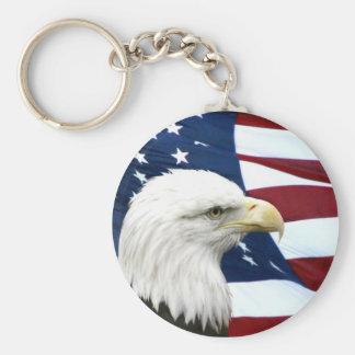 Patriotic keychain