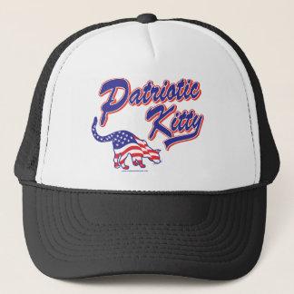 Patriotic-Kitty-2 Trucker Hat