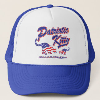 Patriotic Kitty Cats Trucker Hat