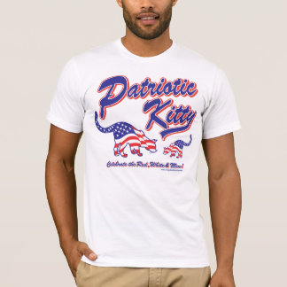 Patriotic Kitty T-Shirt