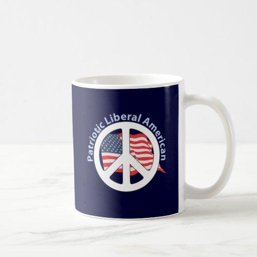 Patriotic Liberal American Coffee Mug