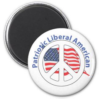 Patriotic Liberal American Magnet