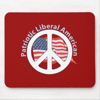 Patriotic Liberal American Mouse Pad