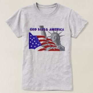 Patriotic Liberty God Bless America T-Shirt