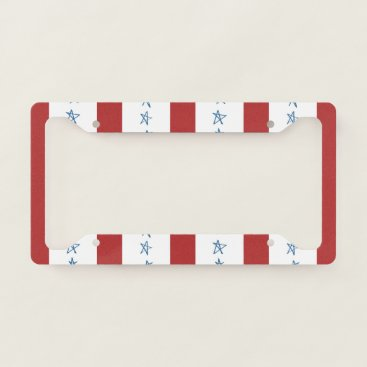 USA Themed Patriotic License Plate Frame