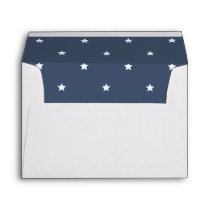 Patriotic Love Wedding Invitation Envelope