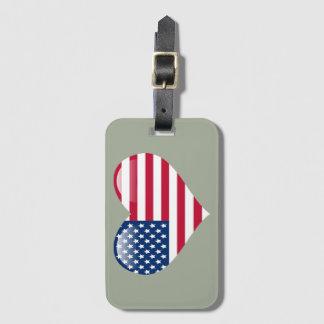 Patriotic Luggage Tag