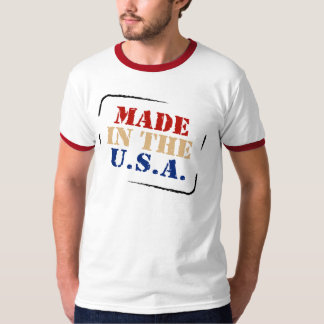 PATRIOTIC MADE IN USA T SHIRT