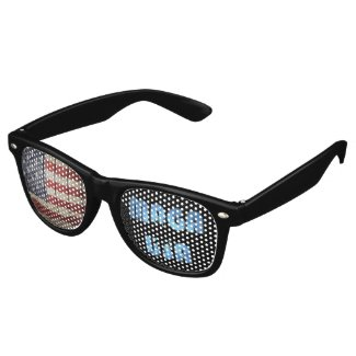Patriotic MAGA Retro Sunglasses