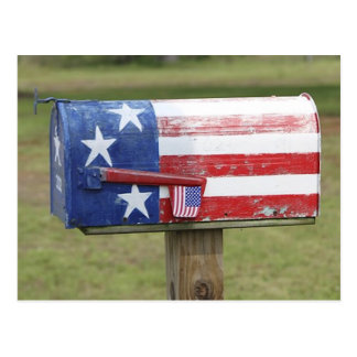 Patriotic Mailbox Post Card