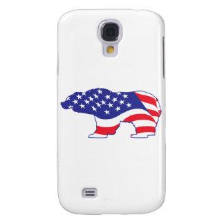 Patriotic Mama Grizzlie Samsung S4 Case