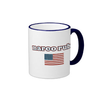 Patriotic Marco Rubio Ringer Mug