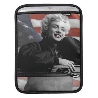 Patriotic Marilyn iPad Sleeve