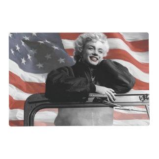 Patriotic Marilyn Placemat