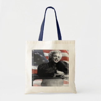 Patriotic Marilyn Tote Bag