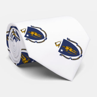 Patriotic Massachusetts State Flag Neck Tie
