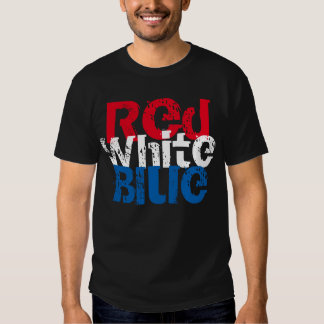 Patriotic Mens T Shirt 4th July Independence Day