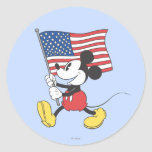 Patriotic Mickey Mouse 1 Stickers