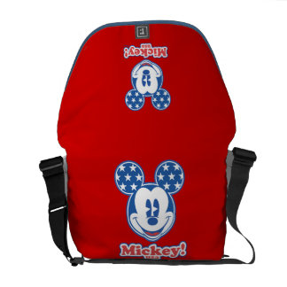 Patriotic Mickey Mouse 4 Courier Bag