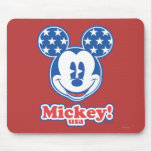 Patriotic Mickey Mouse 4 Mousepad