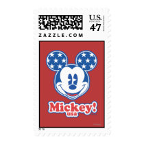 Patriotic Mickey Mouse 4 Postage