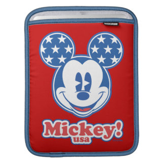 Patriotic Mickey Mouse 4 Sleeve For iPads