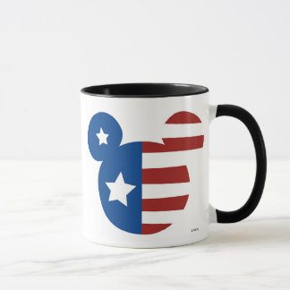 Patriotic Mickey Mouse Mug