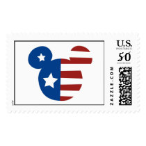 Patriotic Mickey Mouse Postage