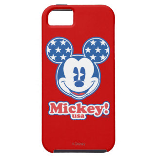 Patriotic Mickey Mouse Stars iPhone 5 Cases