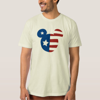 Patriotic Mickey Mouse T Shirt
