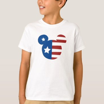 Disney Themed Patriotic Mickey Mouse T-Shirt