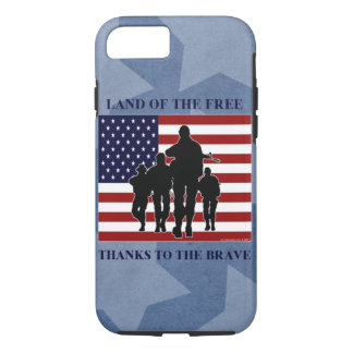 Patriotic Military iPhone 7 Case