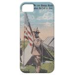 Patriotic Military Vintage Postcard iPhone 5 Case