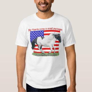 Patriotic Miniature Horse T-Shirt