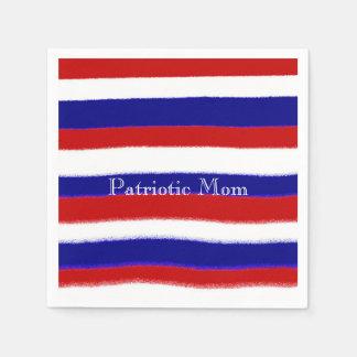 Patriotic Mom Napkins