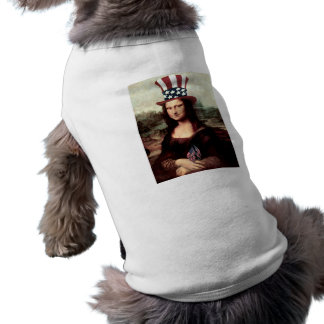 Patriotic Mona Lisa - Ready for Independence Day Shirt