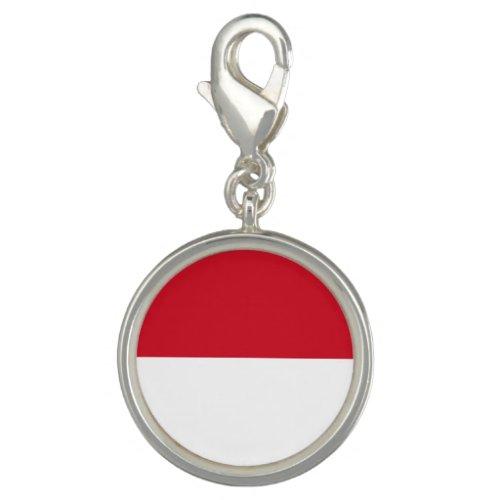 Patriotic Monaco Flag Charm