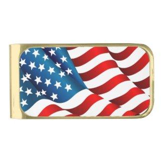 Patriotic Money Clip