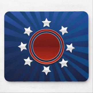 patriotic mouse pad