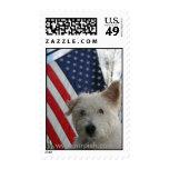 Patriotic Mr. Pish Stamp