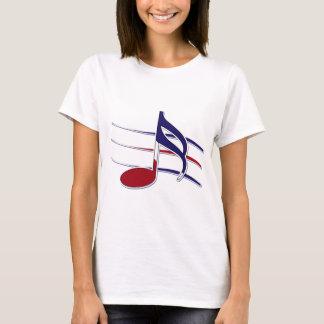 Patriotic Music Note T-Shirt