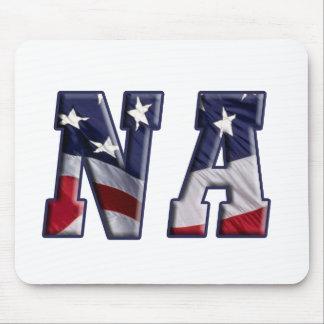 PATRIOTIC NA - PROUD AMERICAN NURSE ASSISTANT MOUSE PAD