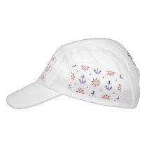 Patriotic Nautical Pattern Hat