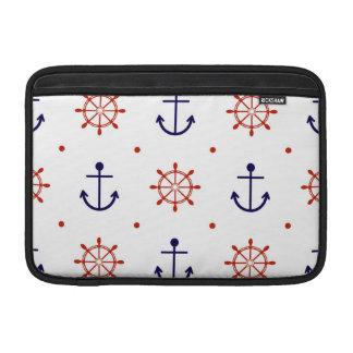 Patriotic Nautical Pattern MacBook Air Sleeve