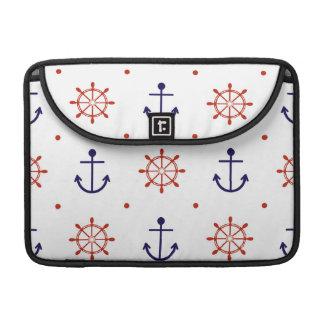 Patriotic Nautical Pattern MacBook Pro Sleeve