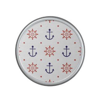 Patriotic Nautical Pattern Speaker