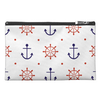 Patriotic Nautical Pattern Travel Accessory Bags